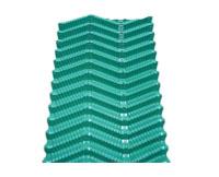 方形逆流式冷却塔S波散热片